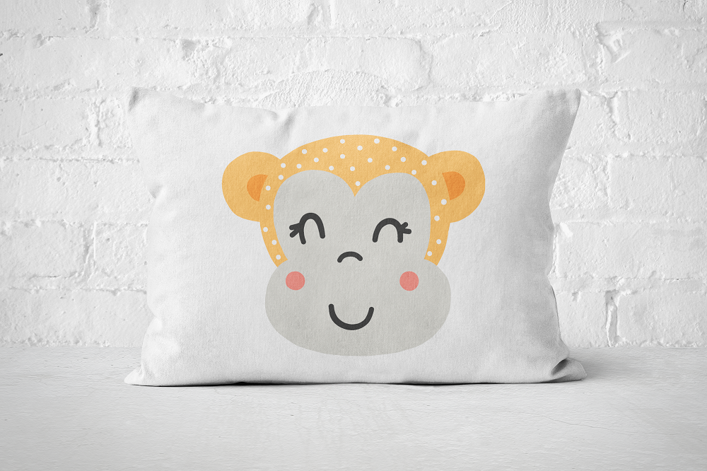 Smiley Critter 7 | Pillow Rectangle - But Why Not