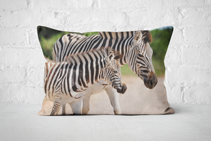 African Wildlife 38 | Pillow Rectangle - But Why Not