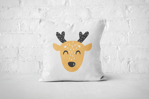 Smiley Critter 3 | Pillow Square - But Why Not