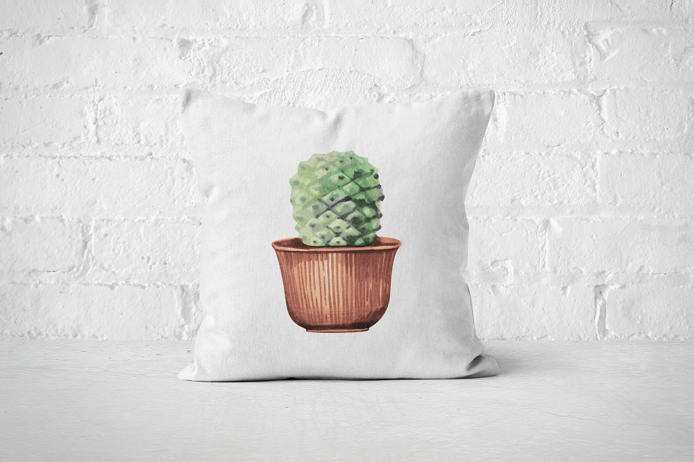Cacti Party 3 | Pillow Cover - But Why Not