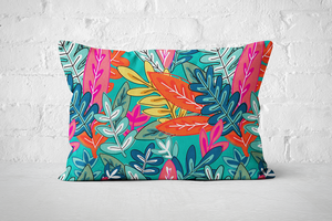 Urban Jungle 3 - Pillow Rectangle - But Why Not