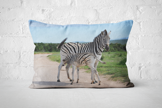 African Wildlife 40 | Pillow Rectangle - But Why Not