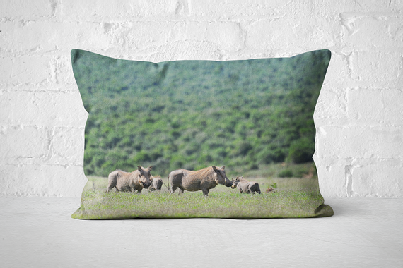 African Wildlife 42 | Pillow Rectangle - But Why Not