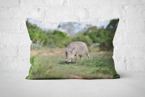 African Wildlife 43 | Pillow Rectangle - But Why Not