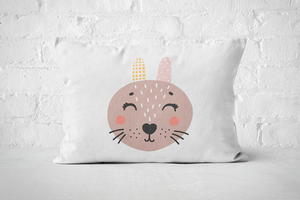 Smiley Critter 15 | Pillow Rectangle - But Why Not