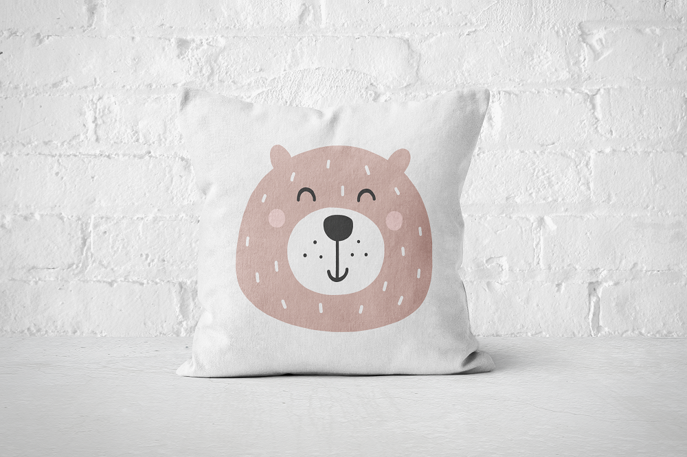 Smiley Critter 4 | Pillow Square - But Why Not