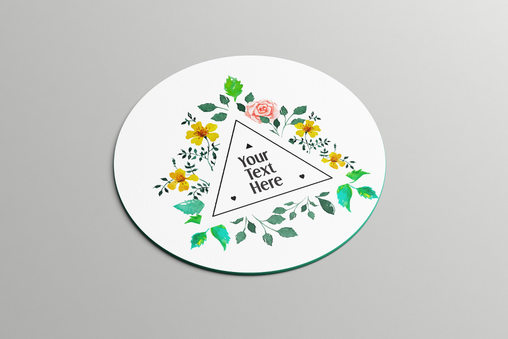 Triangle Floral Frame | Coasters - But Why Not