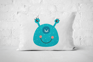 Smiley Critter 20 | Pillow Rectangle - But Why Not