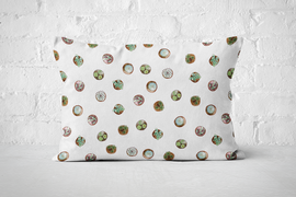 Succulent Pattern 1 | Pillow Rectangle - But Why Not