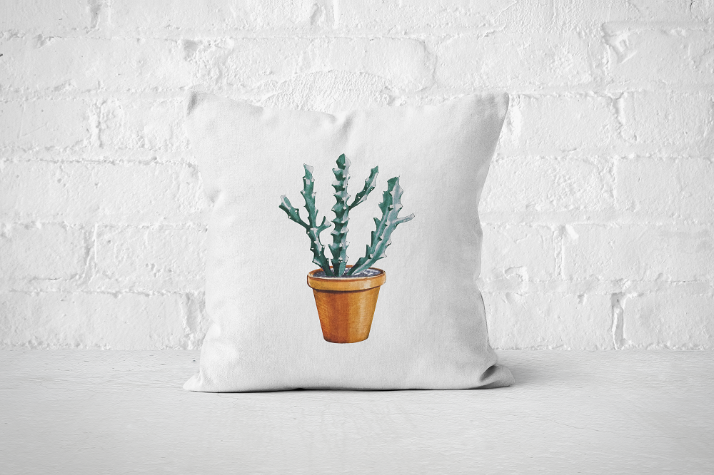 Cacti Party 5 | Pillow Cover
