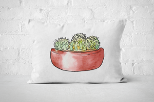 Succulent 3 | Pillow Rectanlge - But Why Not