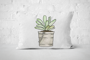 Succulents 7 | Pillow Rectangle - But Why Not