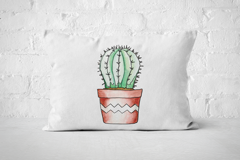 Succulent 10 | Pillow Rectangle - But Why Not