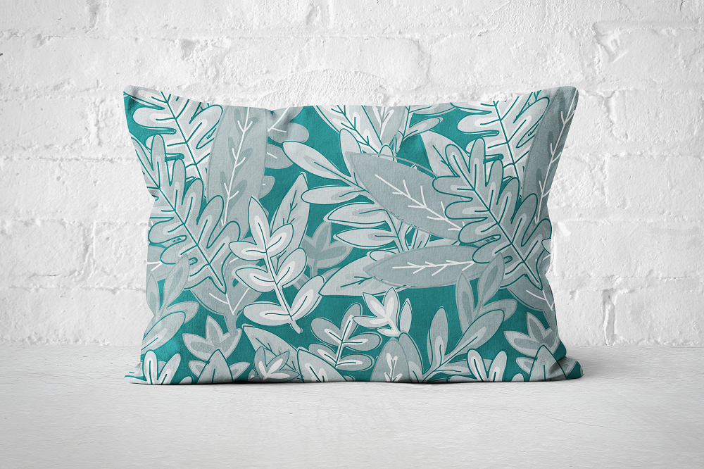 Urban Jungle 6 - Pillow Rectangle - But Why Not