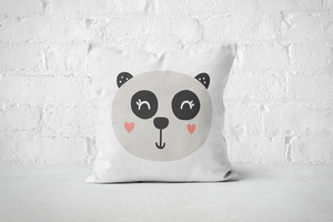 Smiley Critter 6 | Pillow Square - But Why Not