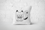 Hello Cat | Pillow - Square - But Why Not