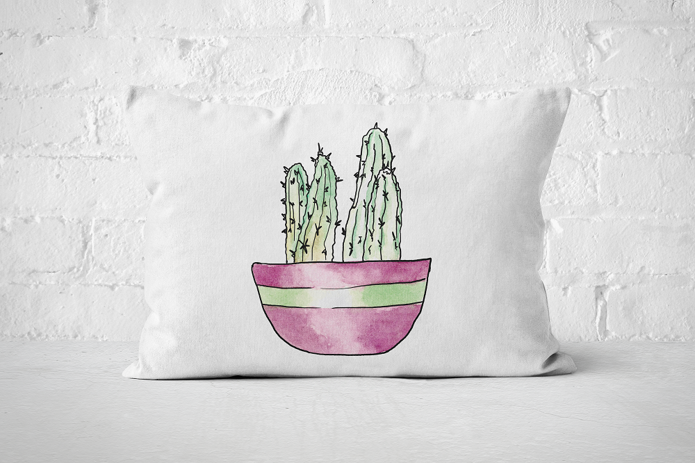 Succulent 12 | Pillow Rectangle - But Why Not