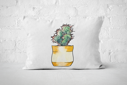 Succulent 13 | Pillow Rectangle - But Why Not
