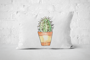 Succulent 15 | Pillow Rectangle - But Why Not