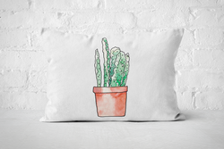 Succulent 17 | Pillow Rectangle - But Why Not