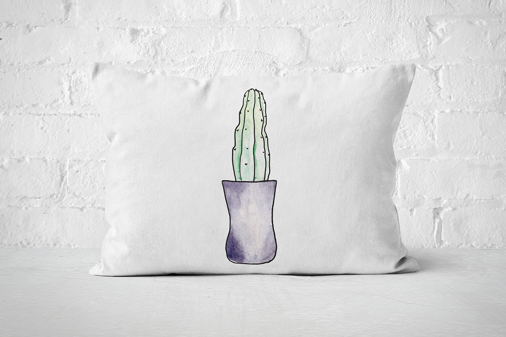 Succulent 18 | Pillow Rectangle - But Why Not