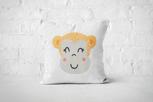 Smiley Critter 7 | Pillow Square - But Why Not