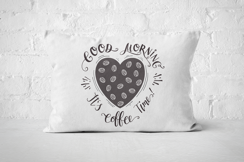 Good morning, it's coffee time | Pillow Rectangle - But Why Not