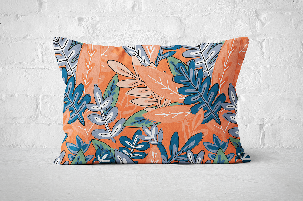 Urban Jungle 8 - Pillow Rectangle - But Why Not