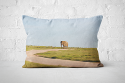 African Wildlife 8 | Pillow Rectangle - But Why Not
