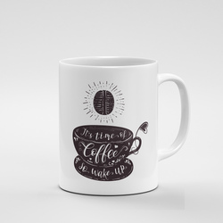 It's time of Coffee (dark) | Mug - But Why Not