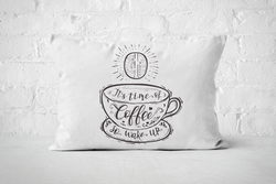 It's time of Coffee | Pillow Rectangle - But Why Not