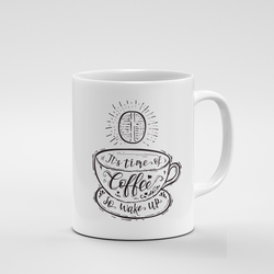 It's time of coffee | Mug - But Why Not