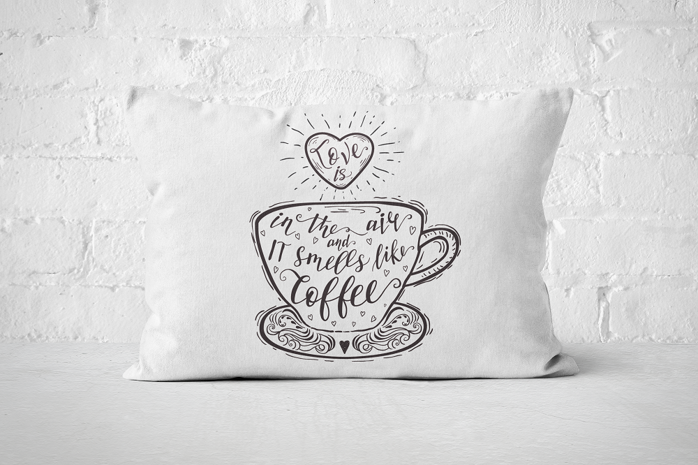 Smells like Coffee | Pillow Rectangle - But Why Not