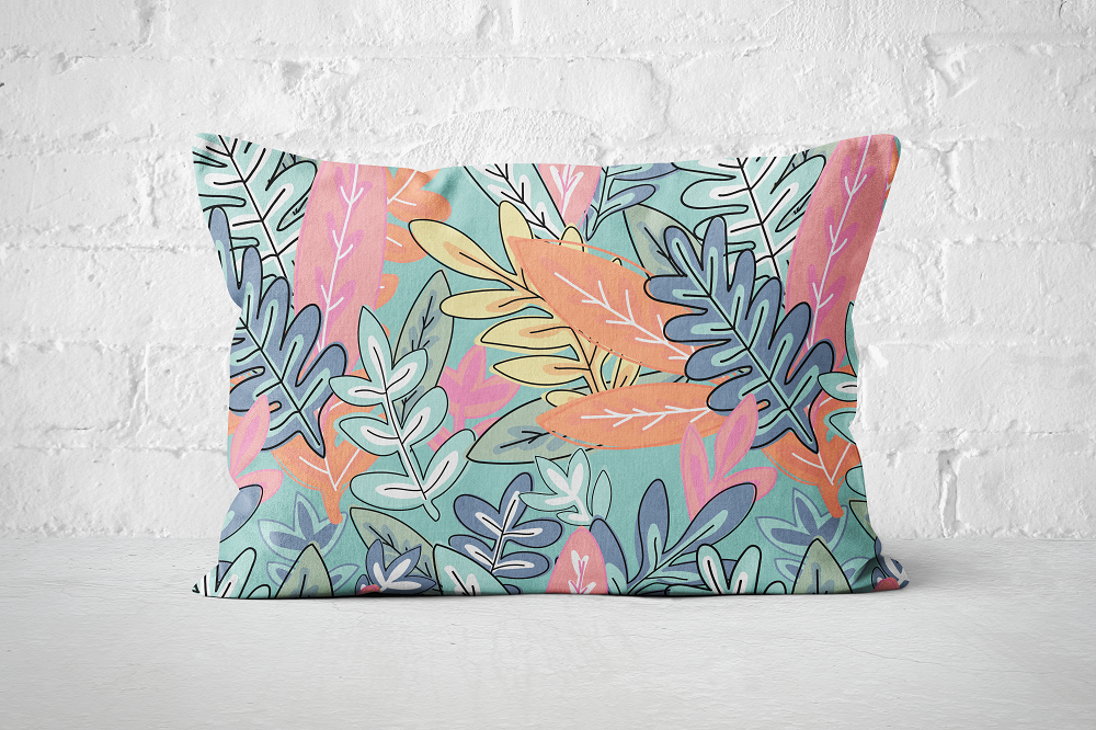 Urban Jungle 9 - Pillow Rectangle - But Why Not