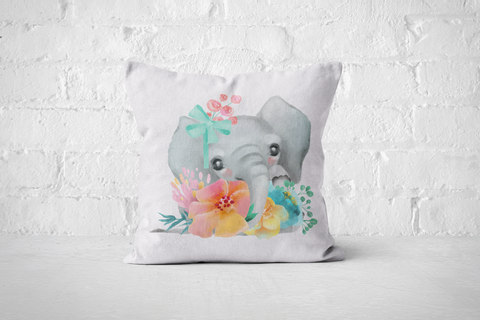 Pretty Letters Pillow Cover - Elephant 2 - But Why Not