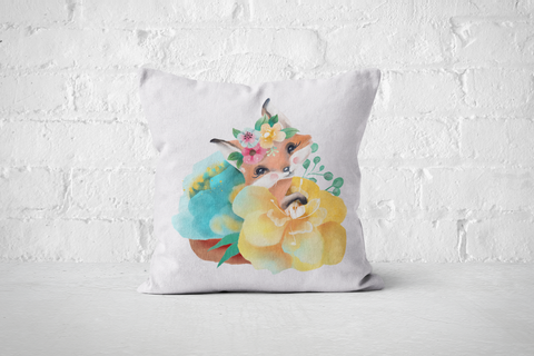 Pretty Letters Pillow Cover - Fox 1 - But Why Not