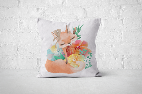 Pretty Letters Pillow Cover - Fox 2 - But Why Not