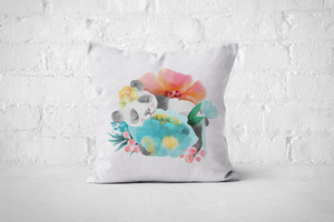 Pretty Letters Pillow Cover - Panda 2 - But Why Not