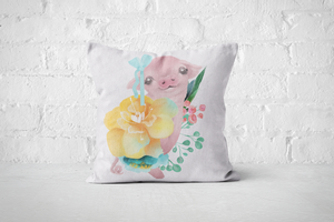 Pretty Letters Pillow Cover - Piggy 2 - But Why Not