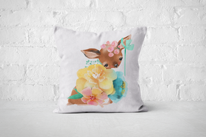 Pretty Letters Pillow Cover - Deer - But Why Not