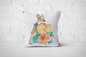 Pretty Letters Pillow Cover - Giraffe 1 - But Why Not