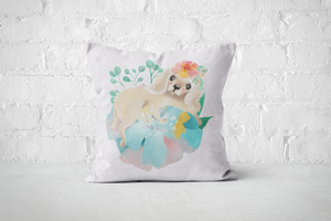 Pretty Letters Pillow Cover - Puppy 1 - But Why Not