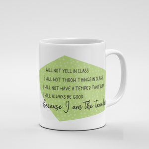 Because I am the Teacher | Mug - But Why Not