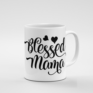 Blessed Mama Hearts | Mug - But Why Not