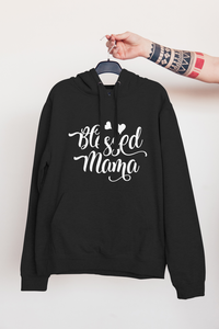 Blessed Mama Hearts | Hoodie