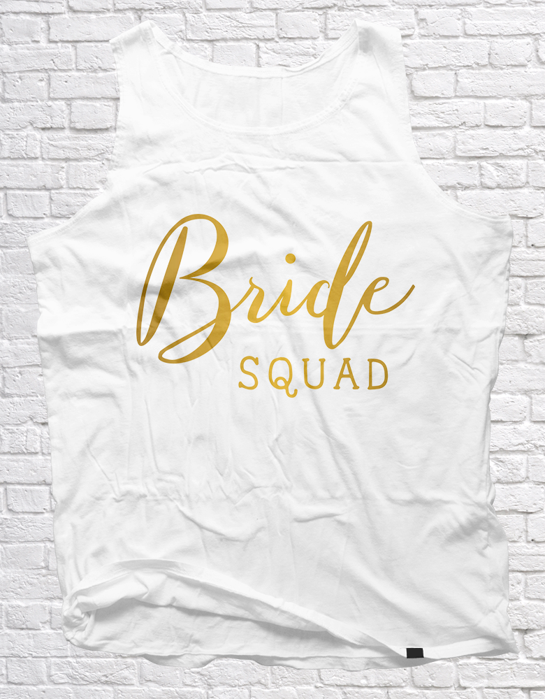 Bride Squad | Unisex Vests - But Why Not
