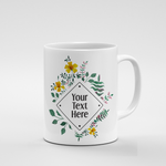Diamond Floral Frame | Mug - But Why Not