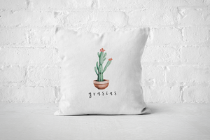 Grasias | Pillow Cover - But Why Not