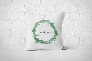 Thank you | Pillow Cover - But Why Not