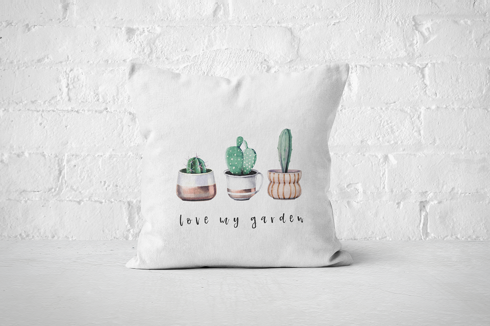 Love My Garden | Pillow Cover - But Why Not
